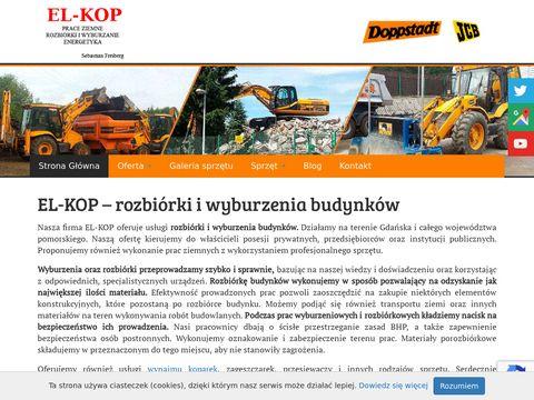 El-Kop Instalatorstwo elektryczne prace ziemne