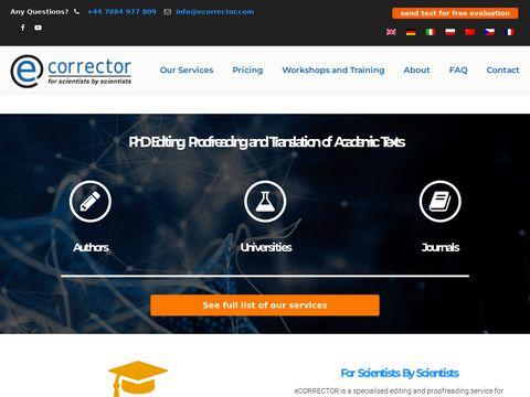 ECorrector.com profesjonalne tłumaczenia