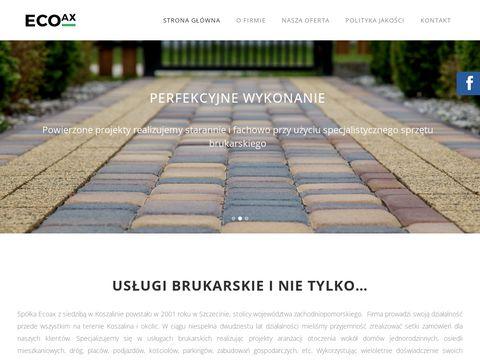 EcoAx domy szkieletowe