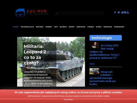 EGO Man eleganckie koszule męskie