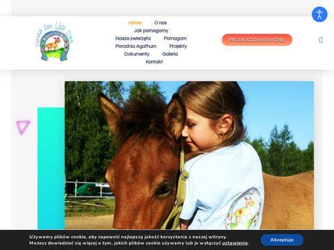 Dzieciwujatoma.pl ośrodek zooterapii