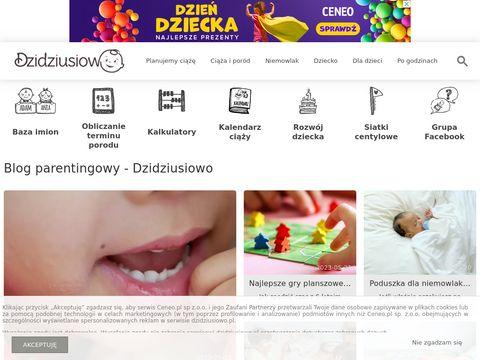 Portal dla mam Dzidziusiowo.pl