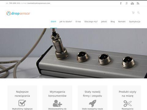Dropsensor.com bezpieczne odcinanie zaworów wody