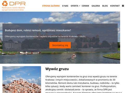 DPR kontenery Kraków