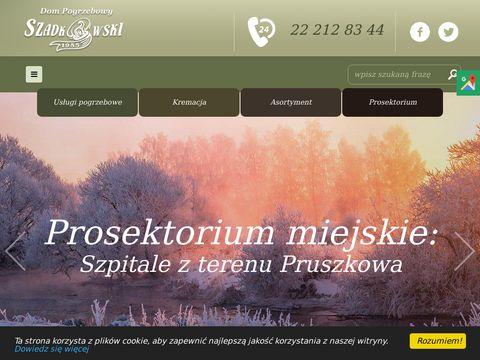 Mariusz Szadkowski transport zmarłych Piastów