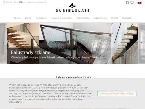 Dubiel Glass szklane drzwi Kraków