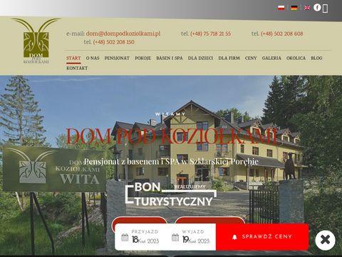 Dompodkoziolkami.com.pl Szklarska Poręba pensjonaty