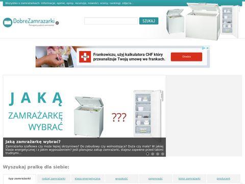 DobreZamrazarki.pl - o zamrażarkach