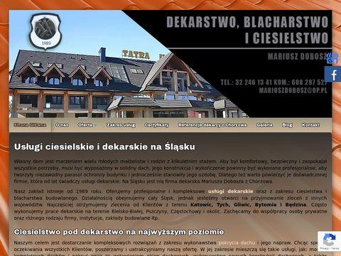 Dobosz Mariusz montaż więźby dachowej Śląsk
