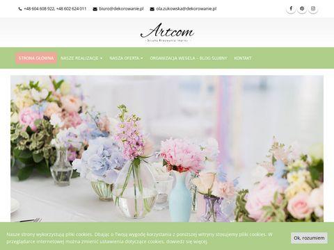 Artcom - weselny sklep internetowy