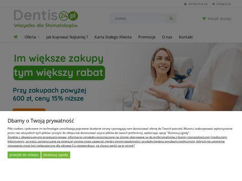 Dentis24.pl - preparaty medyczne