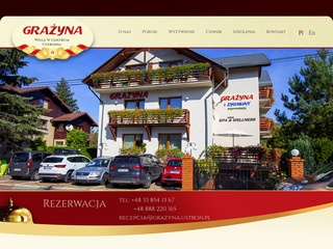 Grazyna.ustron.pl willa wczasy w górach