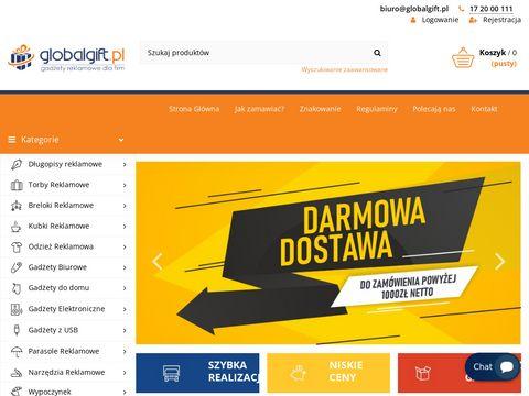 Globalgift.pl gadżety reklamowe dla firm