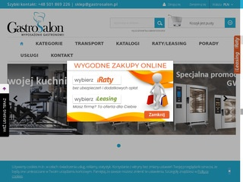 Gastrosalon.pl witryny chłodnicze