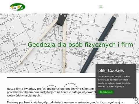 Geo-Graf biuro geodezji podział działki Gorzów