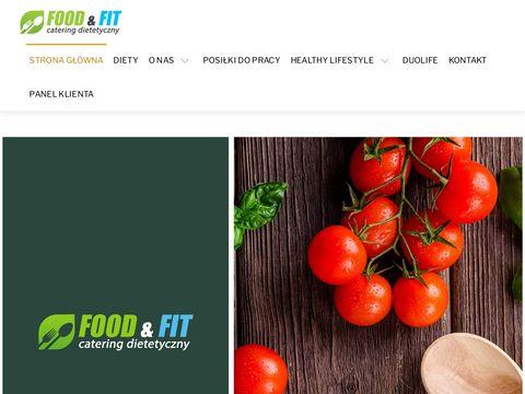 Foodandfit.pl dieta pudełkowa