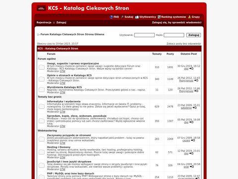 Forum.Kataloog.info - forum dla webmasterów