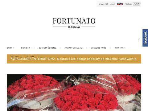 Fortunato kwiaciarnie Warszawa