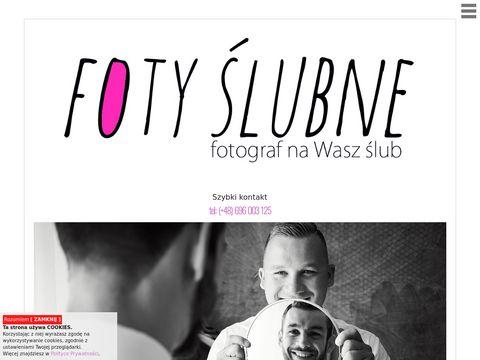 Fotyslubne.com fotograf ślubny