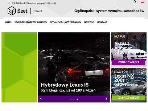 FleetPoland.pl wynajem samochodów