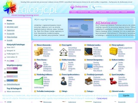 Falco-jc.pl katalog stron