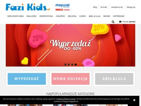 Ffazikids.pl Mayoral ubranka dziecięce