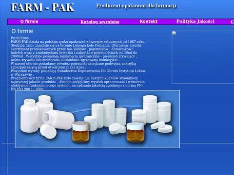 Farm-Pak Producent opakowań dla farmacji