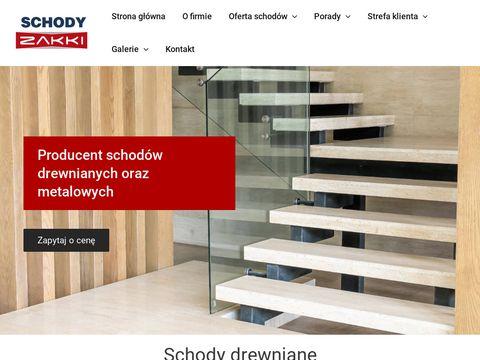 Zakki schody metalowe Gdańsk