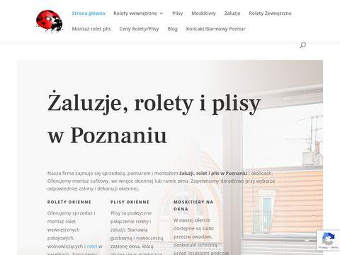 Zaluzjerolety.com Poznań rolety