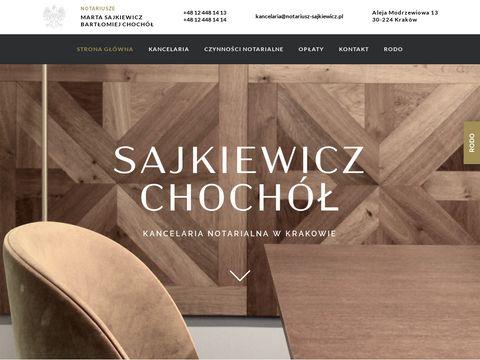 Zarzycka-notariusz.pl kancelaria notarialna Kraków