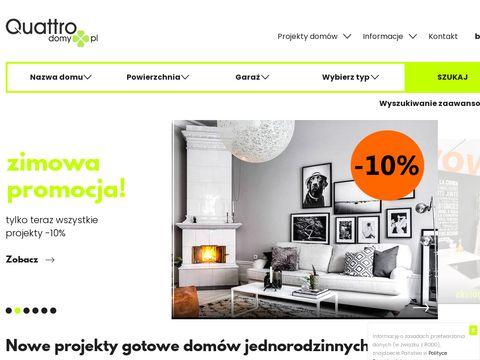 Quattrodomy.pl projekt domu parterowego