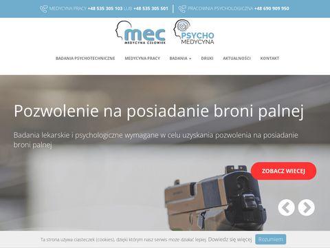 Psychomedycyna.pl promieniowanie jonizujące MEC