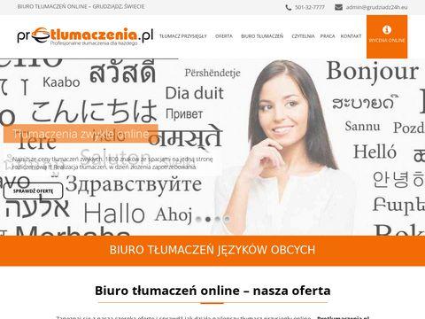 Protlumaczenia.pl - tłumacze w Internecie