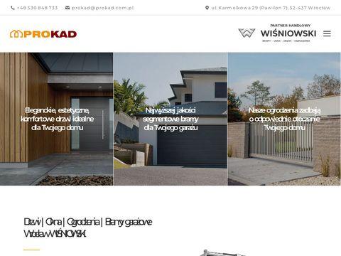 Prokad.com.pl bramy drzwi i ogrodzenia we Wrocławiu