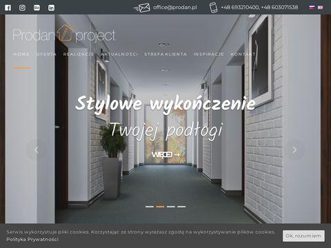 Prodanproject.com listwy przypodłogowe z LED