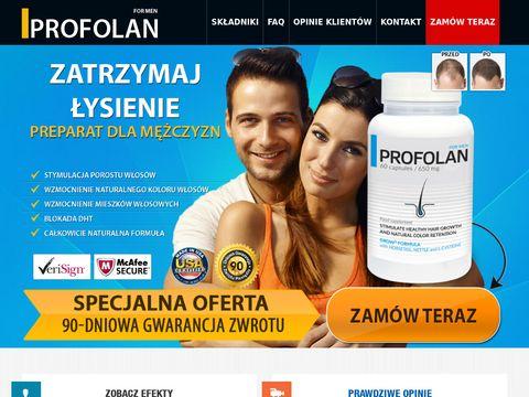 Profolan.pl - tabletki na włosy