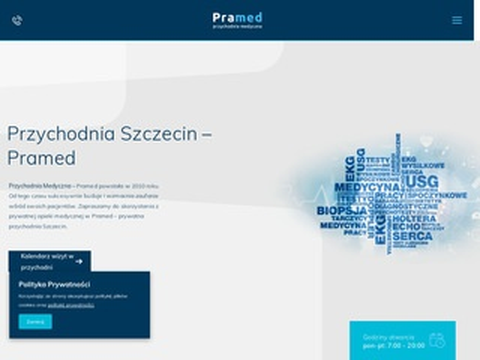 Pramed.pl dopler, usg serca, Szczecin