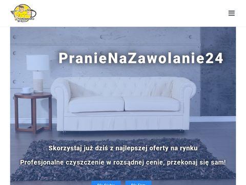 Pranienazawolanie24.pl czyszczenie tapicerek