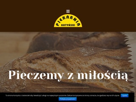 Ratyński piekarnia bagietki Warszawa