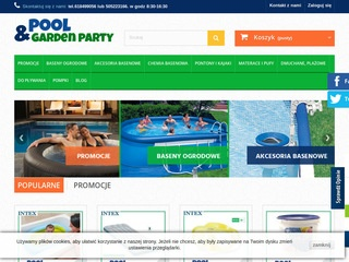 Pool & Garden Party mata pod basen