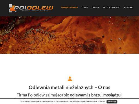 Polodlew - odlewnia metali nieżelaznych