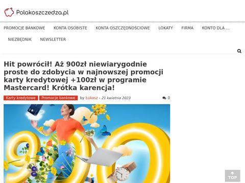 PolakOszczedza.pl ranking kont osobistych