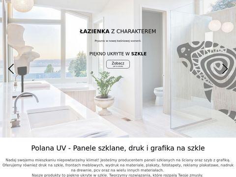Polanauv.pl - grafika na szkle do kuchni