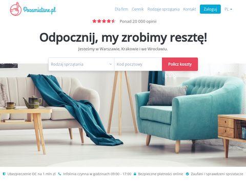 Pozamiatane.pl firma sprzątająca Warszawa
