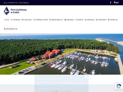 Port.leba.eu jachtowy żagle