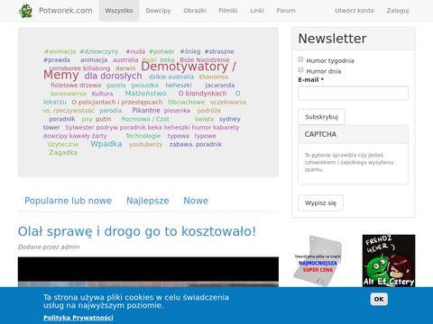 Potworek.com serwis rozrywkowy