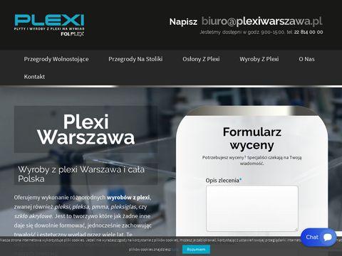 Plexiwarszawa.pl wyroby