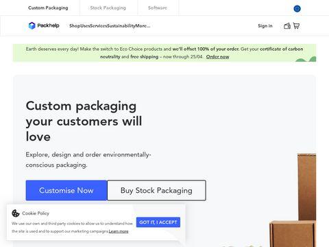 Packhelp.com pudełka wysyłkowe