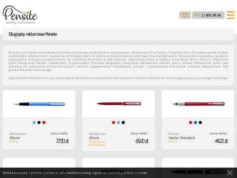 Pensite.com.pl długopisy reklamowe