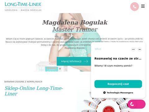 Magdalena Bogulak - kurs makijażu permanentnego